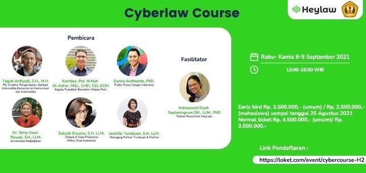 Kursus Hukum Siber (Cyberlaw Course) #1