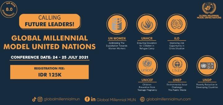 Global Millennial MUN 8.0 (GM MUN 8.0)