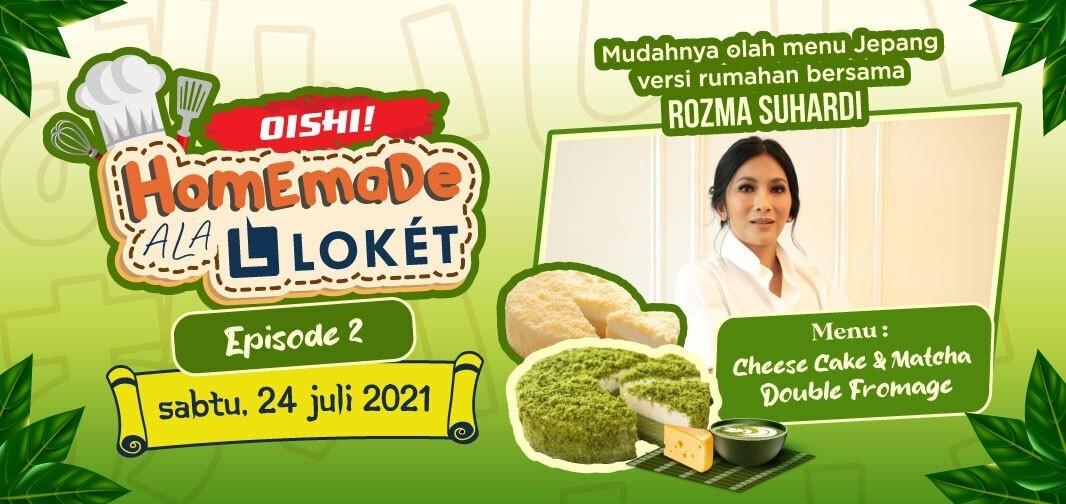 Baking Class with Rozma Suhardi (Matcha & Cheese cake double Fromage)