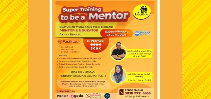 Super Training to be a Mentor