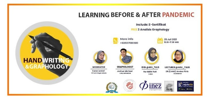 """Learning Before & After Pandemic """"Handwriting & Graphology"""""""