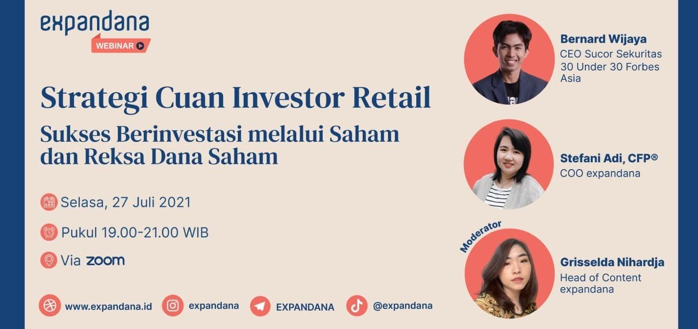 Sukses Berinvestasi melalui Saham dan Reksa Dana Saham