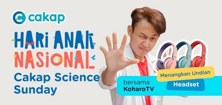 Hari Anak Nasional 2021 - Cakap Science Sunday