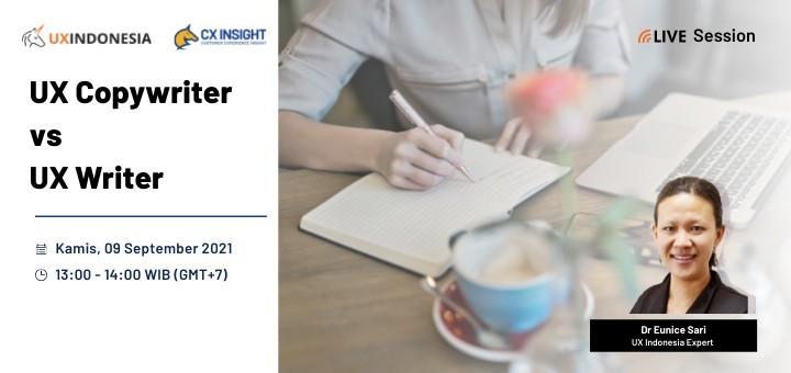 UX Copywriter vs UX Writer