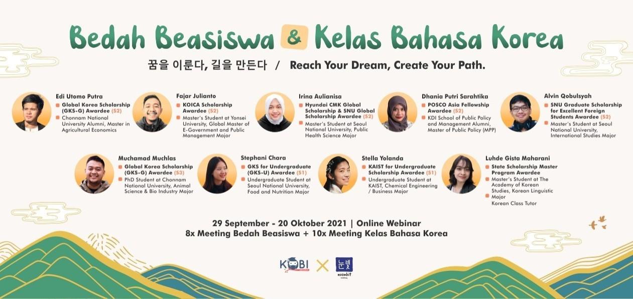 BEDAH BEASISWA & KELAS BAHASA KOREA