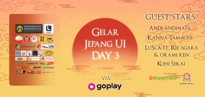 Gelar Jepang UI Day 3