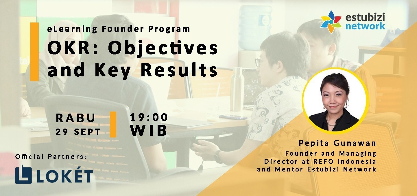 Founder Program: Objectives and Key Results