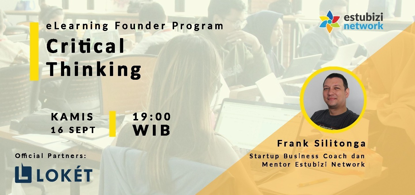 Founder Program: Critical Thinking