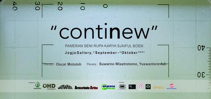 "PAMERAN SENI RUPA ""contiNew"""