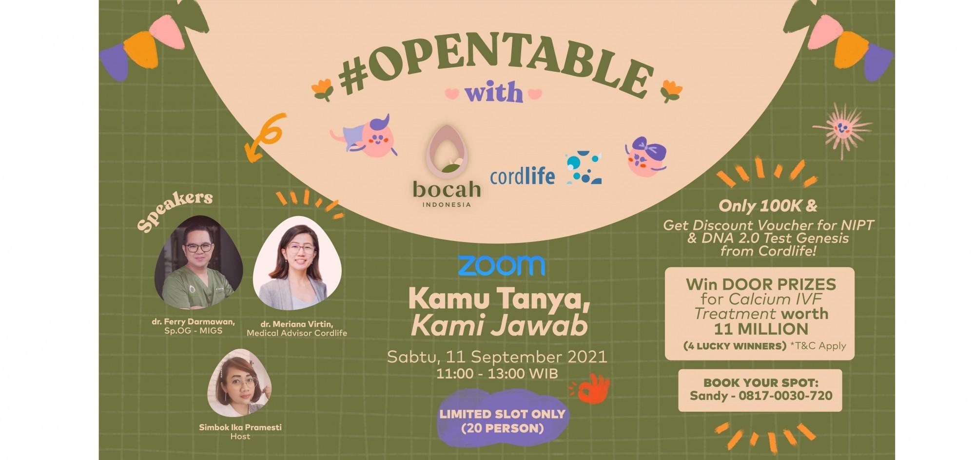 OPENTABLE With Bocah Indonesia_ Kamu Tanya? Kami Jawab