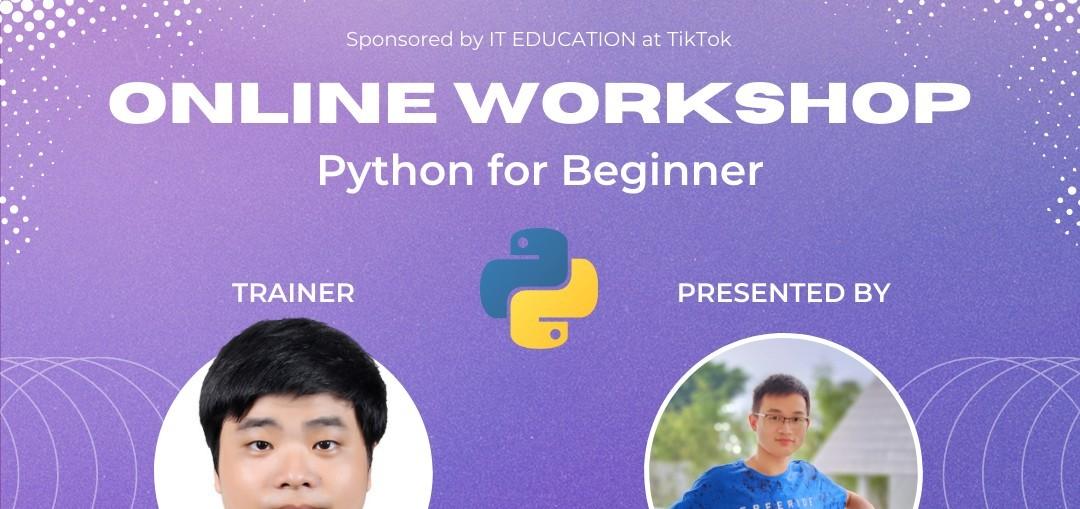 Workshop Python for Beginner