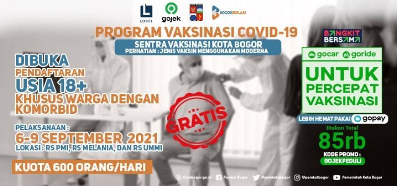 Sentra Vaksinasi Kota Bogor - RS PMI