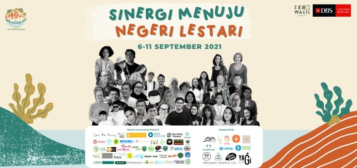 Zero Waste Indonesia Festival - Sinergi Menuju Negeri Lestari