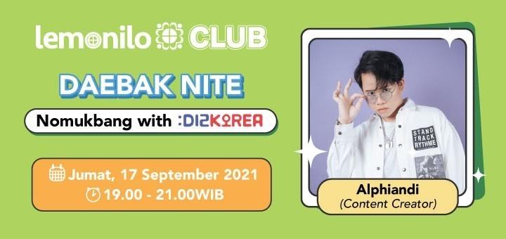 Daebak Nite: Nomukbang with Dizkorea