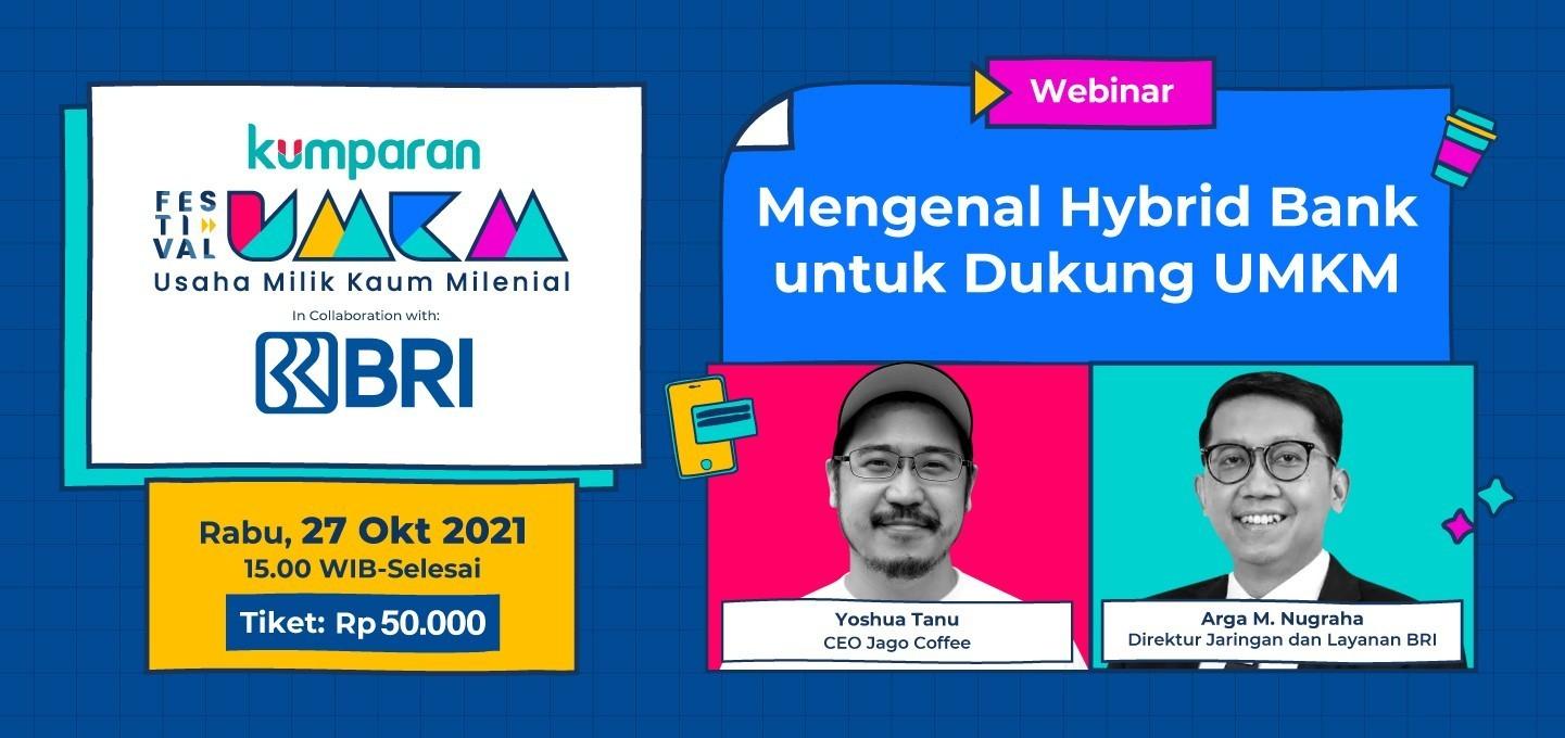 [Festival UMKM Webinar] Mengenal Hybrid Bank untuk Dukung UMKM