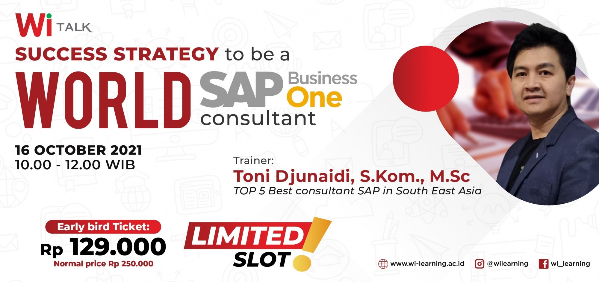 Wi Talk : Success Strategy to be a World SAP Business One Consultant