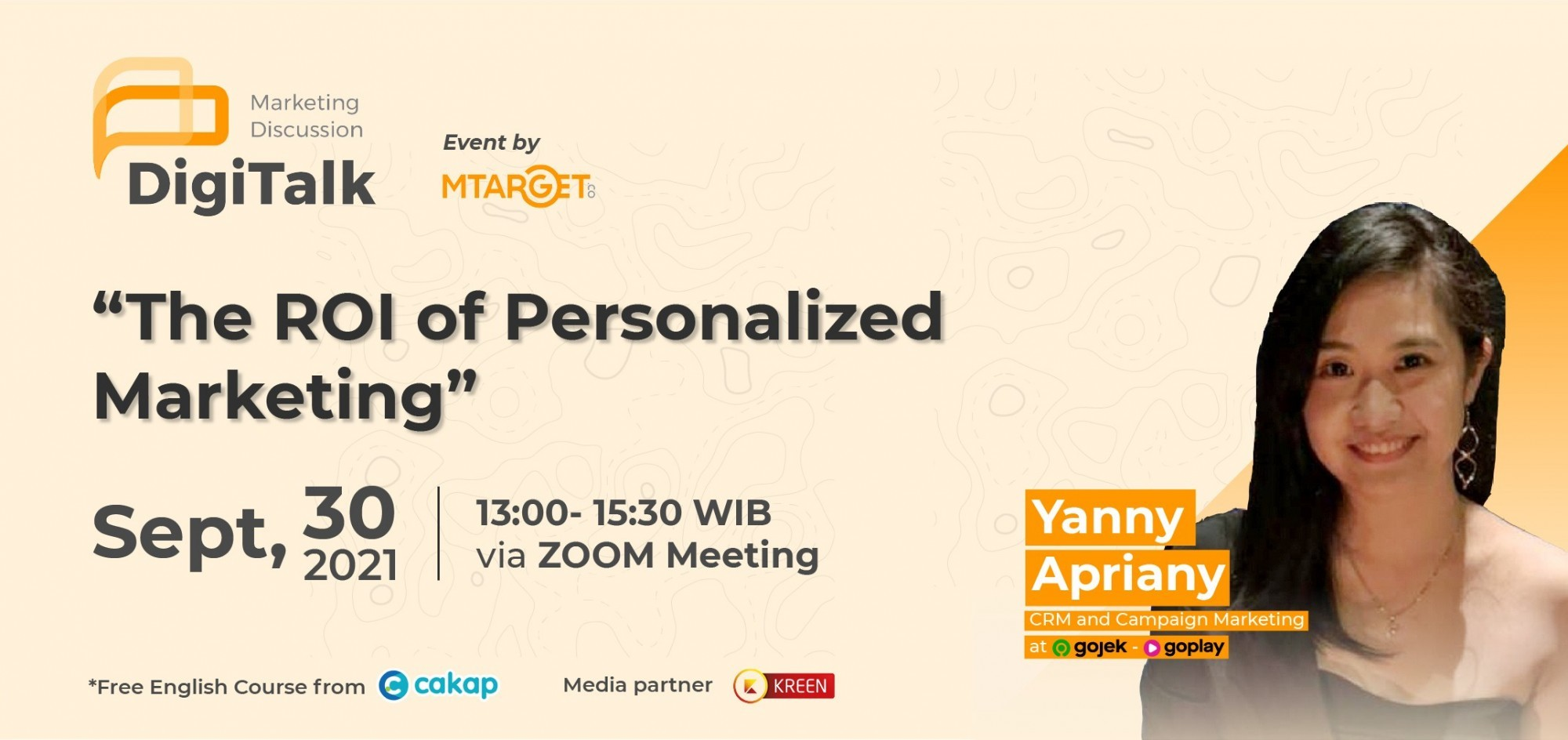 """MTARGET  Webinar  """"The ROI of Personalized Marketing"""""""