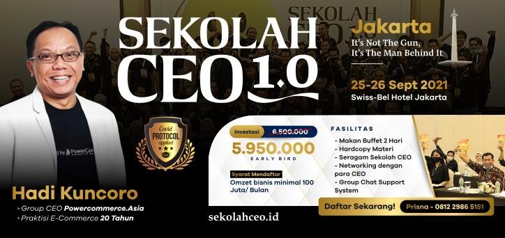 Sekolah CEO 1.0 Batch 17
