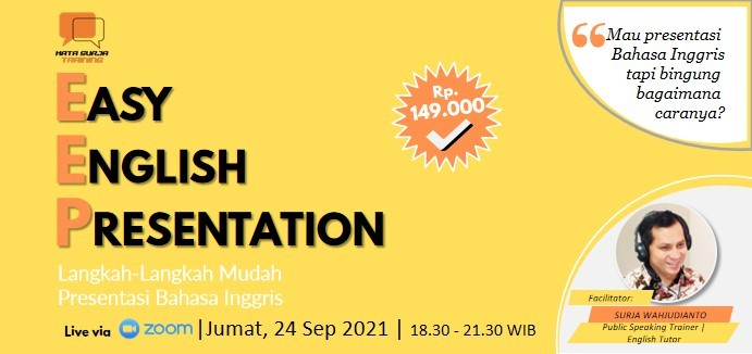 Easy English Presentation