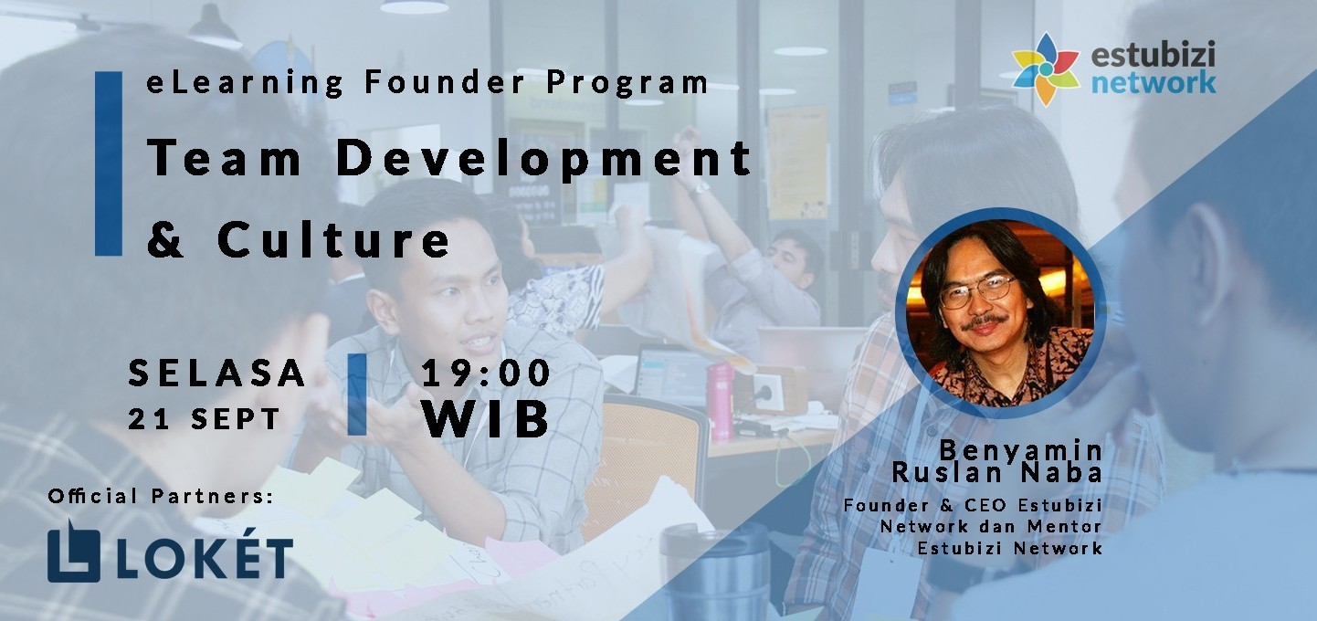 Founder Program: Team Development and Culture
