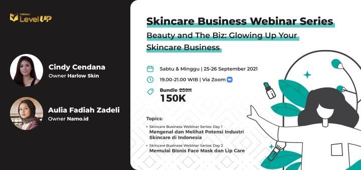 Skincare Business Webinar Series