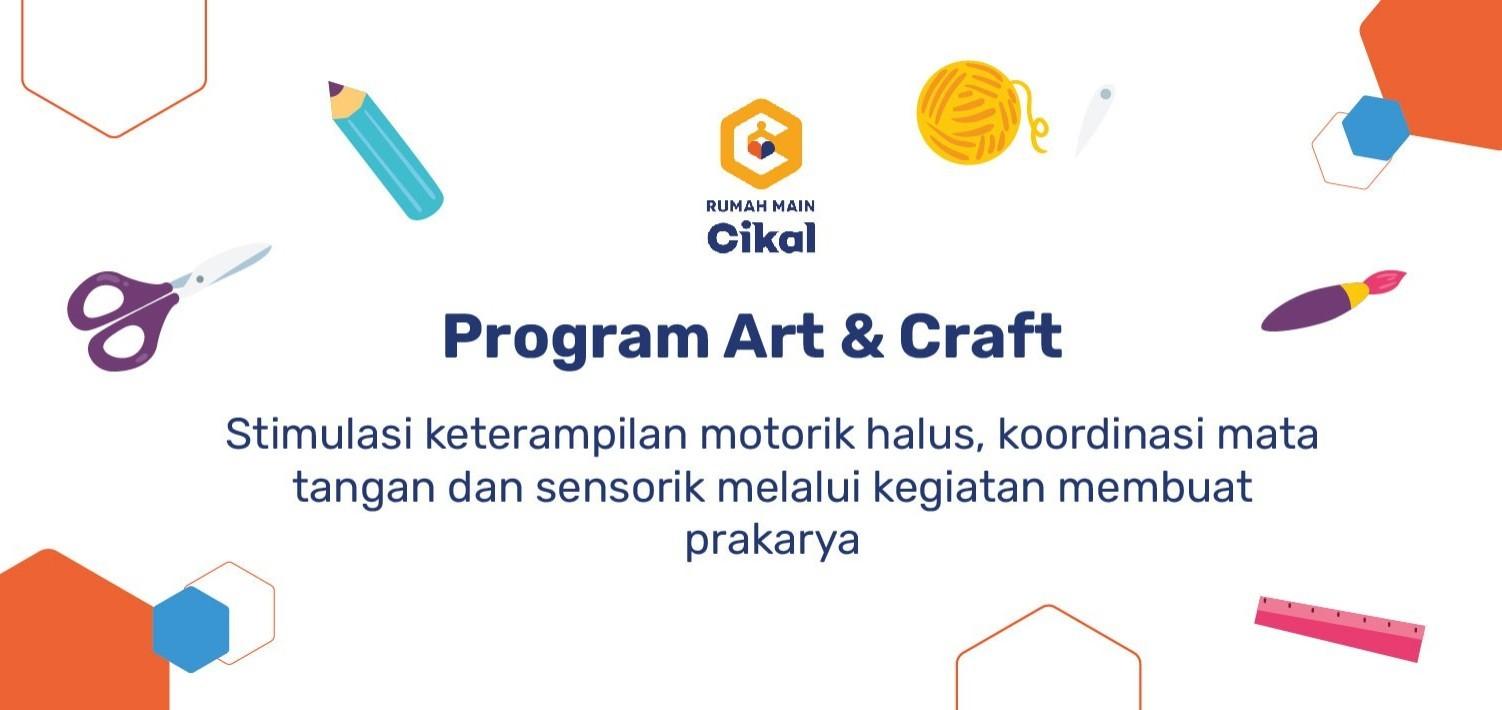 Program Art & Craft: Natural Art and Craft