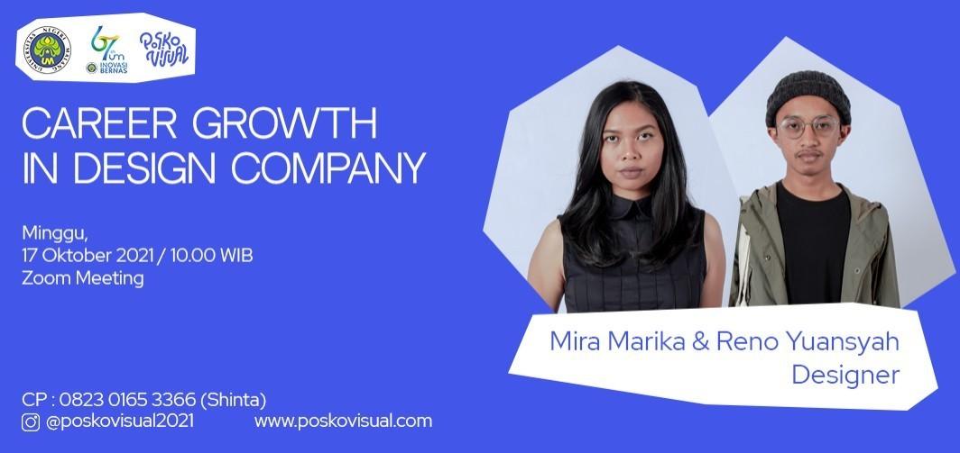 Webinar: Career Growth in Design Company