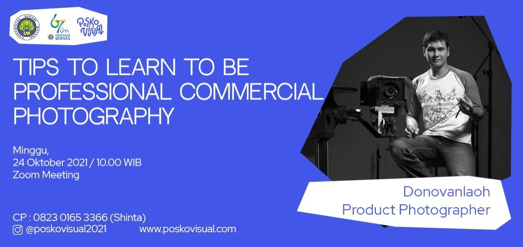 Webinar: Tips to Learn to be Professional Commercial Photography