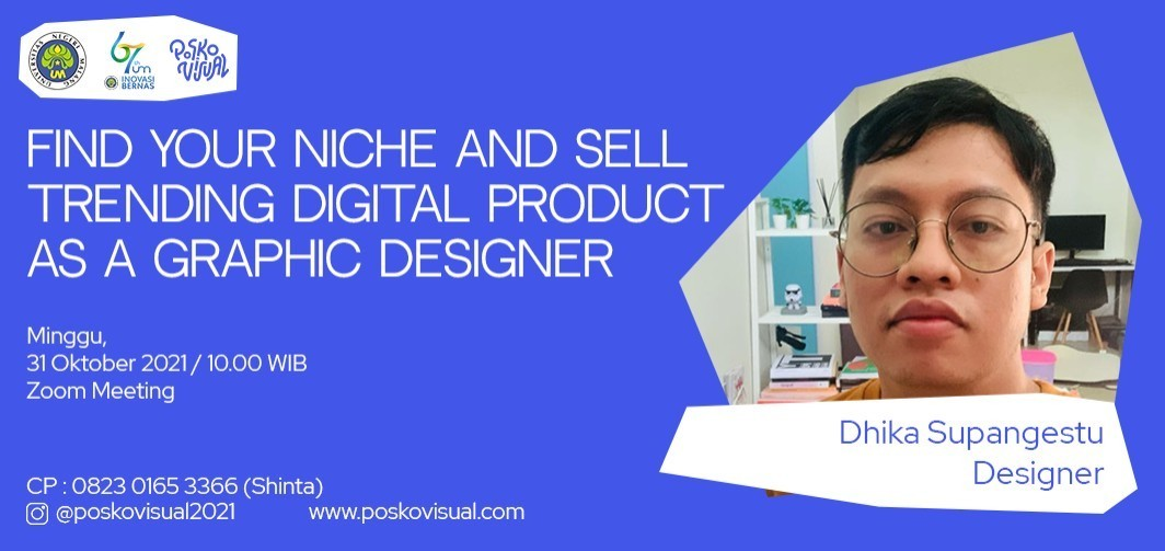 Webinar: Find Your Niche and Sell Trending Digital Product as a Graphic Designer
