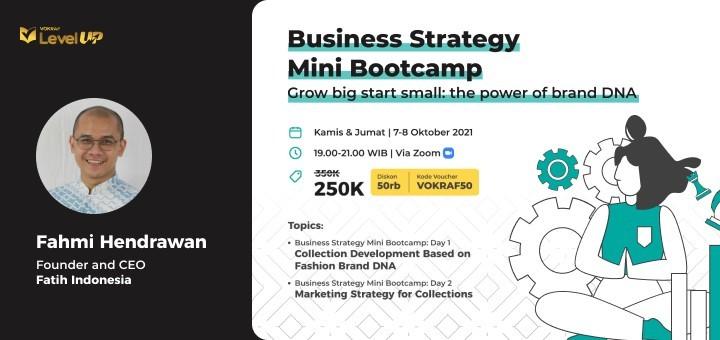 Business Strategy Mini Bootcamp