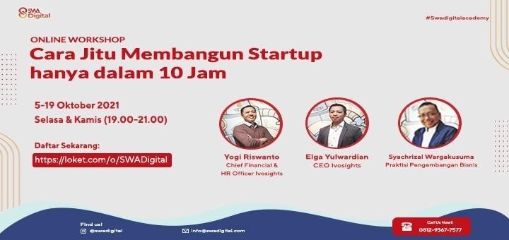 """SWA Digital Online Workshop """"Startup Legal Structure"""""""
