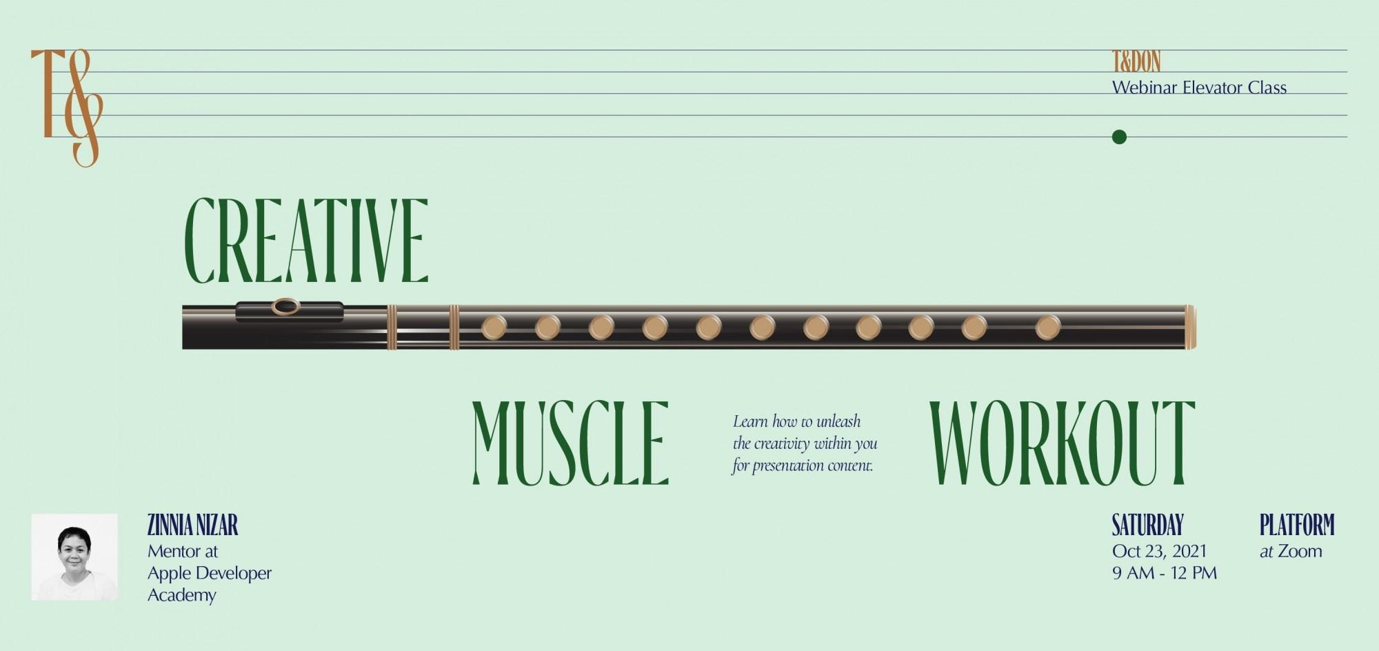 Presentation Skill - Creative Muscle Workout