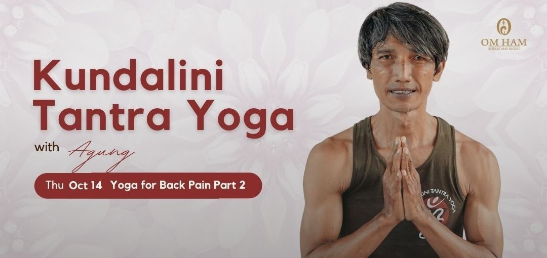 Yoga for Back Pain with Agung (Part 2)