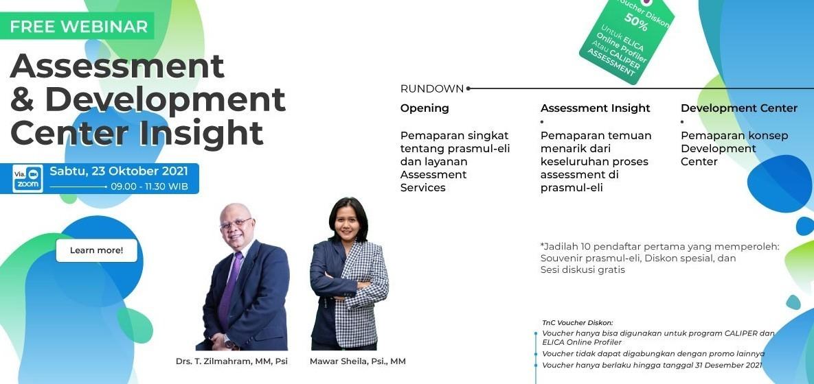 Webinar Assessment & Development Center Insight