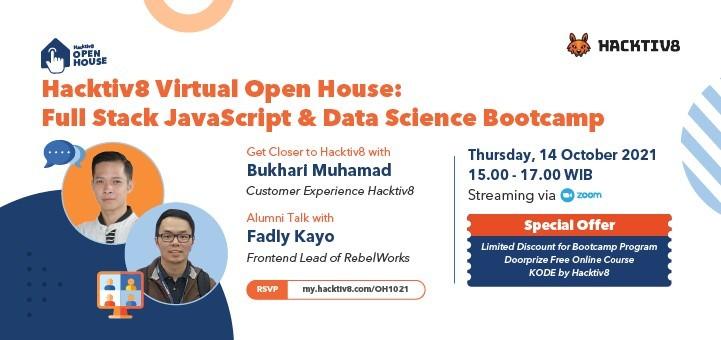 Hacktiv8 Virtual Open House October