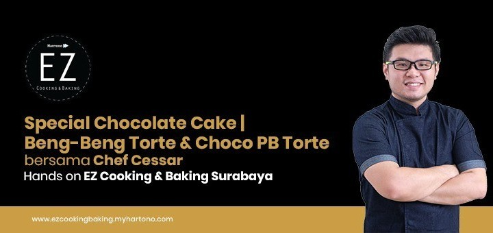 EZ Cooking Baking - Special Chocolate Cake - Beng-Beng Torte & Choco PB Torte   By Chef Cessar