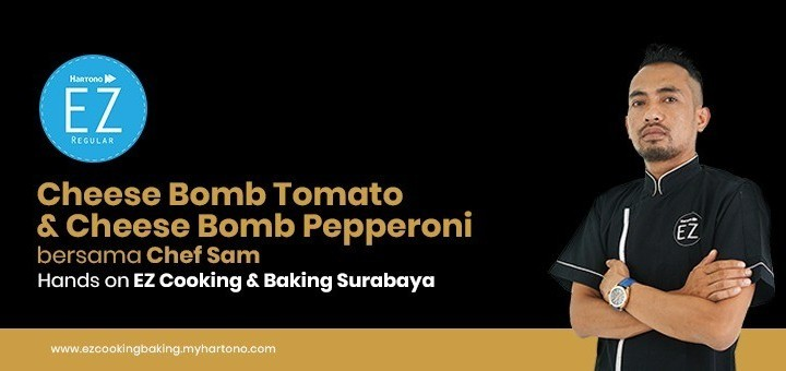 EZ Cooking Baking - Cheese Bomb Tomato & Cheese Bomb Pepperoni | By Chef Sam