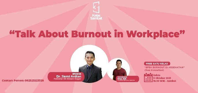 Kelas Sambat: Talk About Burnout in Workplace