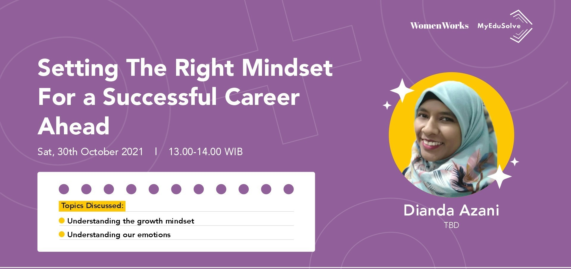 Setting The Right Mindset For a Successful Career Ahead