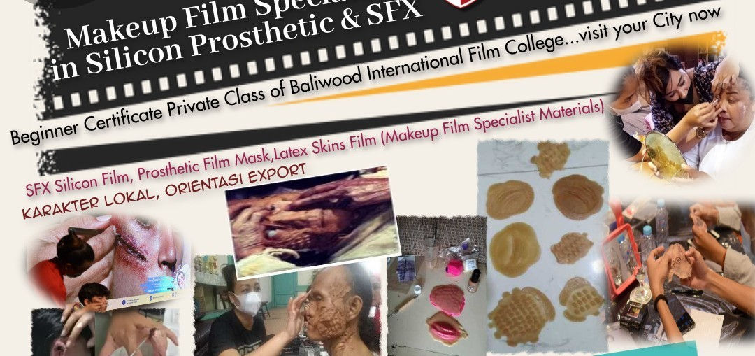 Makeup Film Specialist in Silicon Prosthetic & SFX (Beginner Class)