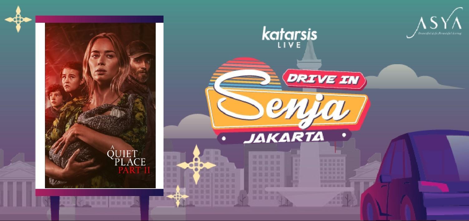 Drive-In Senja Jakarta: A Quiet Place Part II
