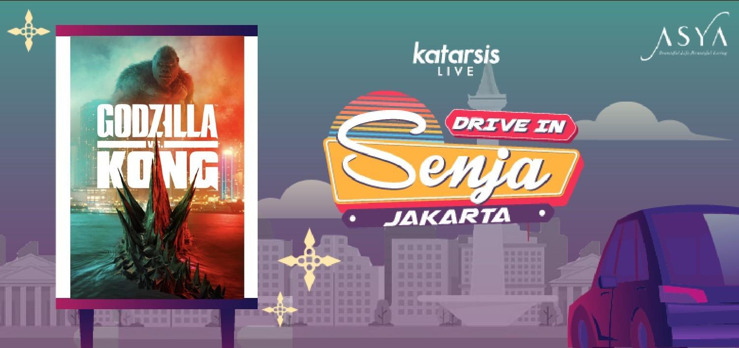 Drive-In Senja Jakarta: Godzilla vs. Kong