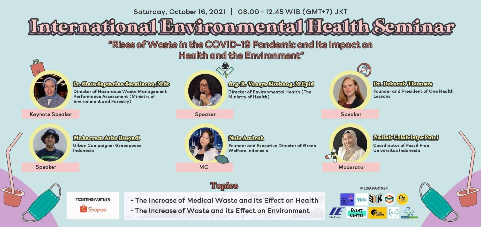 International Environmental Health Seminar (IEHS)