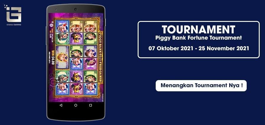 Piggy Bank Fortune Tournament