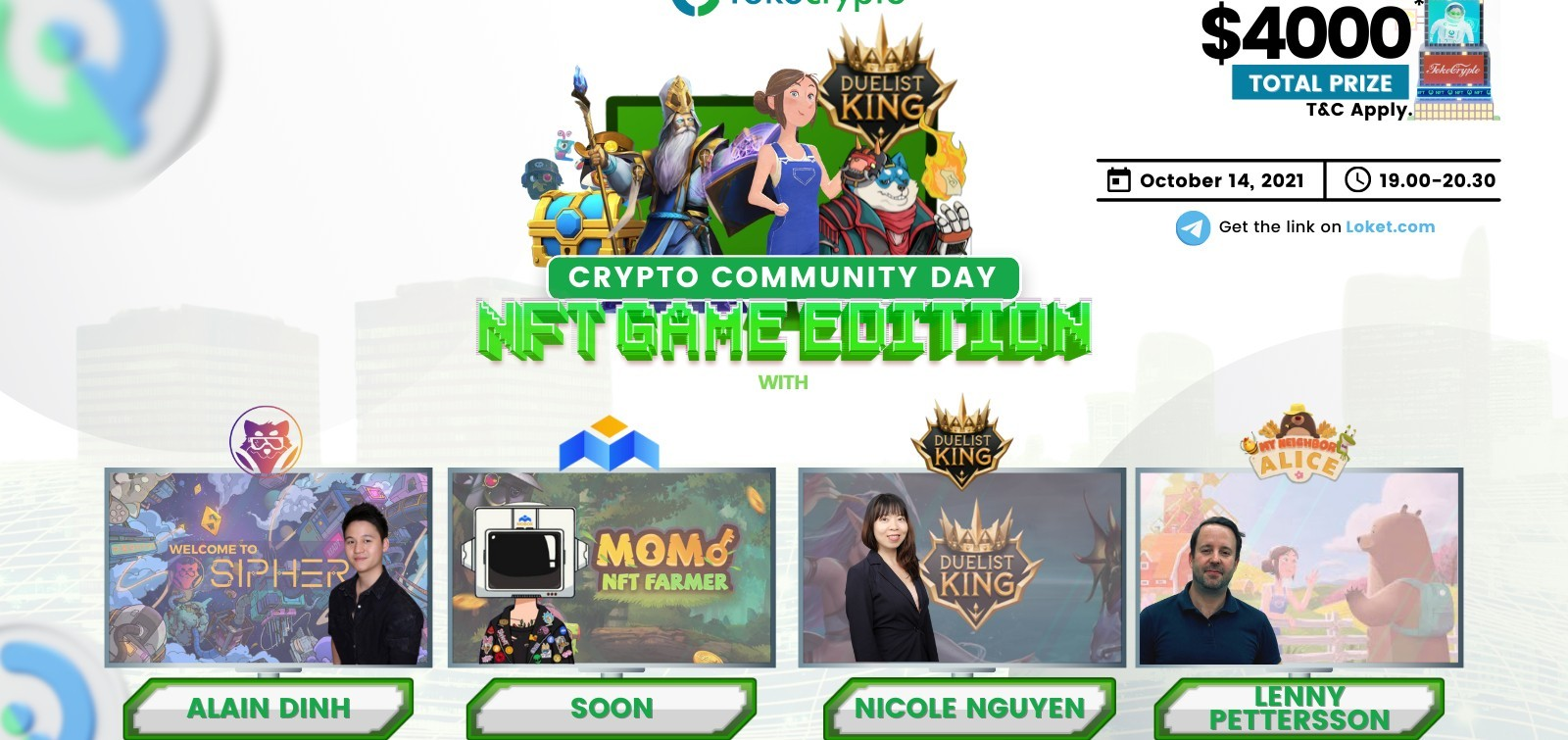 Crypto Community Day NFT Game Edition