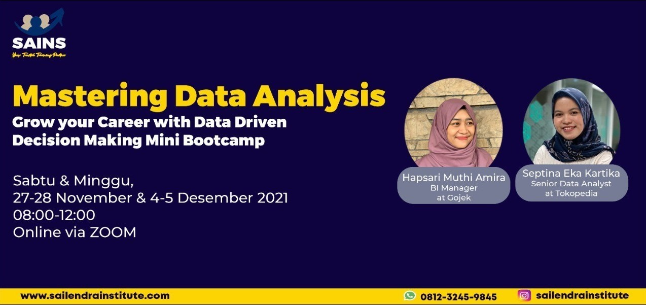 Mastery Data Analysis Mini Bootcamp