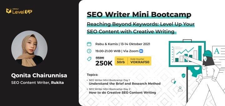 SEO Writing Mini Bootcamp: Reaching Beyond Keyword - Level Up Your SEO Content with Creative Writing