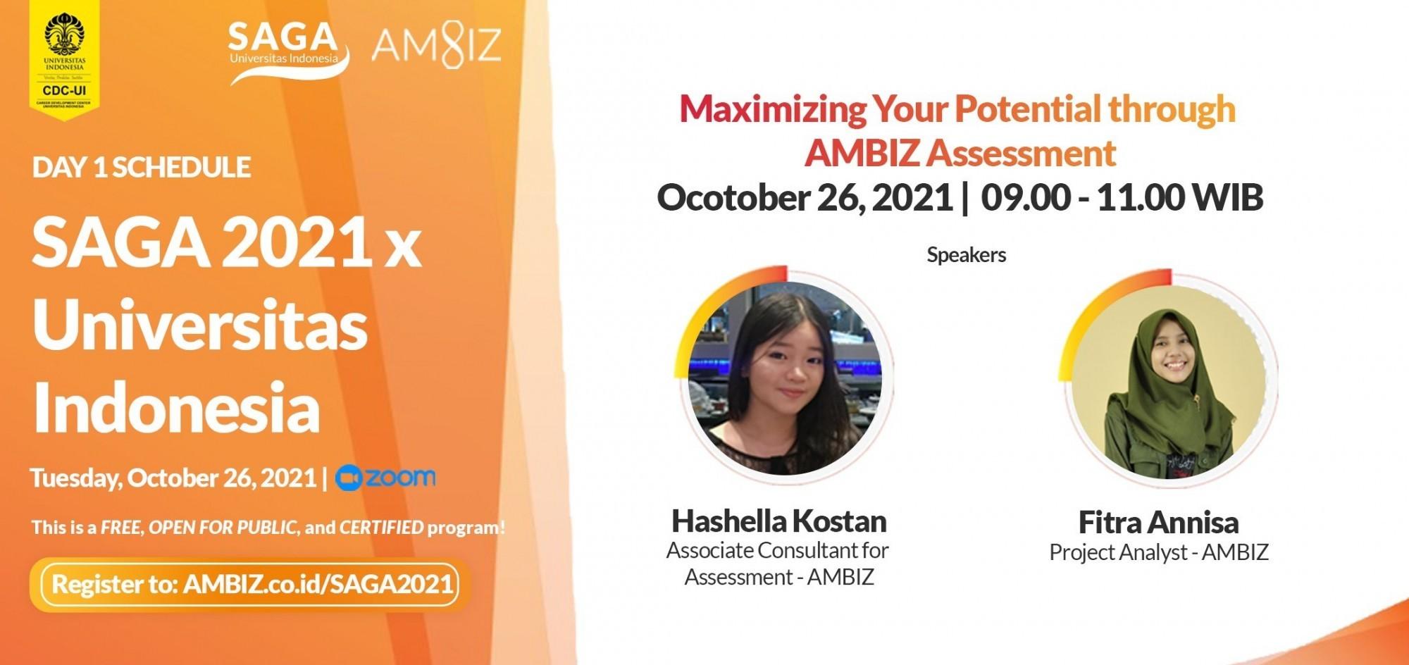 [SAGA x UI] Maximizing Your Potential through AMBIZ Assessment