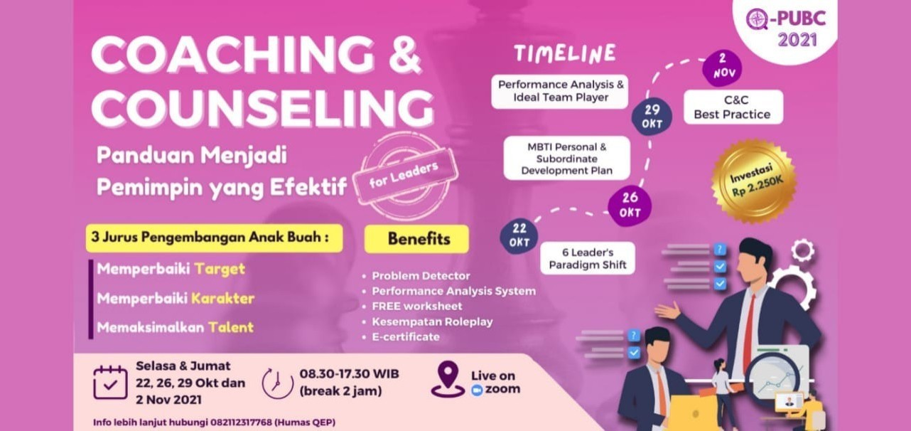 Coaching & Counseling : Panduan Menjadi Pemimpin yang Efektif