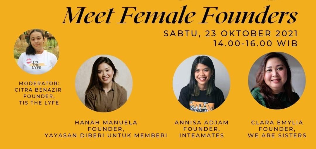 Meet Female Founders: Tis The Lyfe (Online)